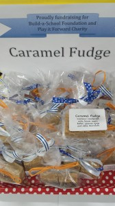 Caramel Fudge for Football - Play It Forward