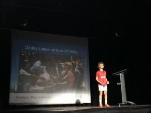 Speaking at The Western International School of Shanghai