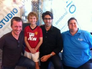 Tom, David and Zane at ABC 612