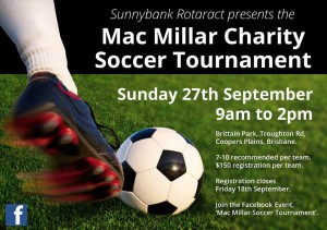 Mac Millar Charity Soccer Tournament