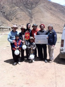 Soccer balls for Tibet